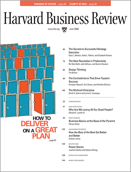 de-kracht-van-design-thinking-hbr-cover