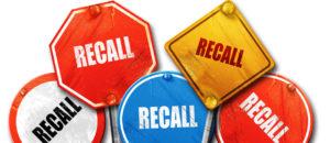 Advertentie-uitgaven vóór een product recall