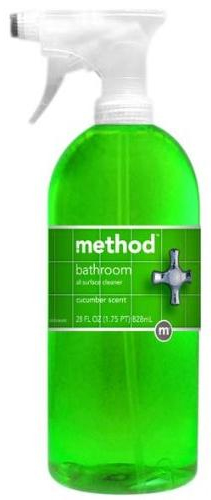 Method bathroom cleanser